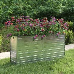 vidaXL Biombo divisor de 6 paneles marrón 240x180 cm