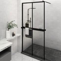 vidaXL Biombo divisor de 6 paneles negro 240x180 cm