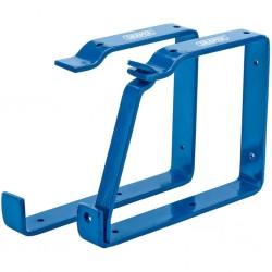 vidaXL Biombo divisor de 4 paneles gris antracita 200x180 cm