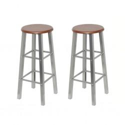 vidaXL Biombo divisor de 6 paneles marrón 300x180 cm