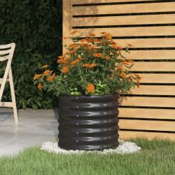 vidaXL Árbol de Navidad artificial con ramas gruesas PVC blanco 240 cm