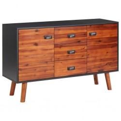 vidaXL Puerta de jardín de metal gris antracita 5x1,25 m