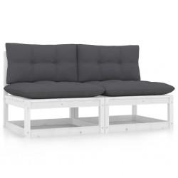 vidaXL Puerta de jardín de metal gris antracita 5x1,75 m
