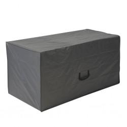 vidaXL Árbol cono de Navidad 330 LEDs coloridos decoración 100x300 cm