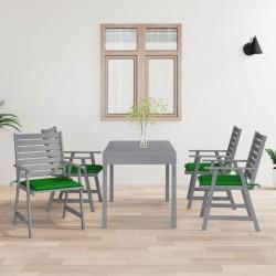 vidaXL Tubos de acero inoxidable redondos 2 unidades V2A 2 m Ø48x1,8mm