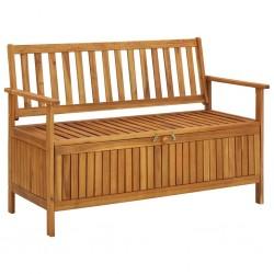 vidaXL Mesita de noche de madera maciza de mango 40x35x51 cm