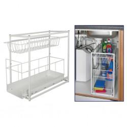 vidaXL Renos y trineo de Navidad decoración jardín 576 LEDs