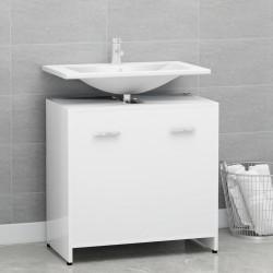 vidaXL Lavabo de cuarto de baño redondo cerámica crema mate