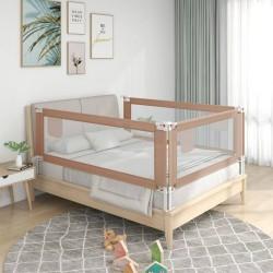 vidaXL Lavabo de cuarto de baño redondo cerámica marrón oscuro