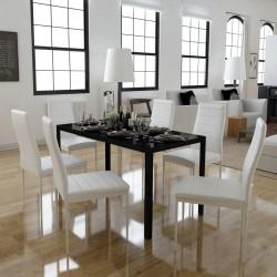 vidaXL Lavabo de cuarto de baño redondo cerámica azul claro
