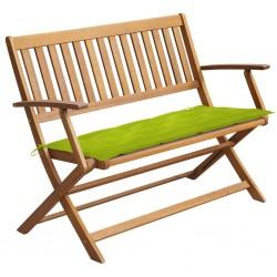 vidaXL Árbol de Navidad estrecho madera real y piñas PVC verde 210 cm