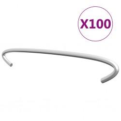 vidaXL Silla de oficina giratoria tela gris taupe
