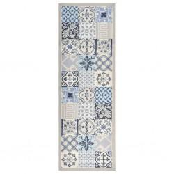 vidaXL Mampara de ducha accesible vidrio ESG medio esmerilado 90x195cm