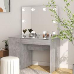 vidaXL Lavabo de lujo ovalado cerámica gris oscuro mate 40x33 cm