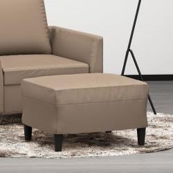 vidaXL Lavabo de lujo ovalado cerámica crema mate 40x33 cm