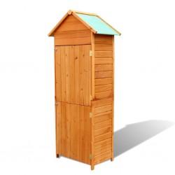 vidaXL Cubo de basura con tapa oscilante 60 L negro y azul
