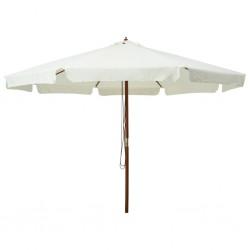 vidaXL Árbol de Navidad artificial con soporte blanco PE 150 cm
