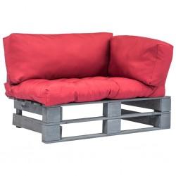 vidaXL Lavabo lujoso y rebosadero cerámica marrón oscuro mate 36x13 cm