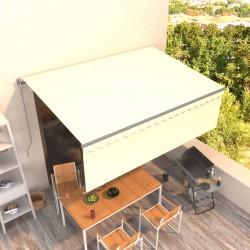 vidaXL Lavabo lujoso con rebosadero cerámica negro mate 36x13 cm