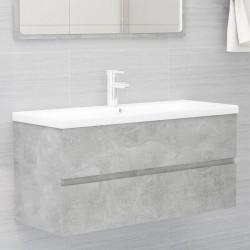 vidaXL Lavabo de lujo de cerámica azul claro mate 41x30x12 cm