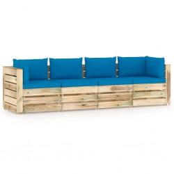 vidaXL Muñeco de nieve inflable de Navidad con LED IP44 450 cm XXL