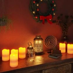 vidaXL Árbol de Navidad 2000 LED blanco cálido flores de cerezo 500 cm