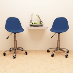 vidaXL Lavabo cuadrado rebosadero cerámica azul oscuro mate 41x41cm