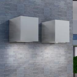 vidaXL Lavabo de lujo de cerámica rectangular gris oscuro mate 71x38cm