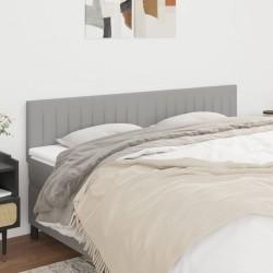 vidaXL Estantería de 5 cubos de tela gris 103x30x72,5 cm