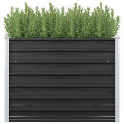 vidaXL Estantería de 6 cubos con cajas tela negra 103x30x72,5 cm