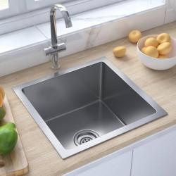 vidaXL Estantería de 9 cubos con cajas tela negra 103x30x107,5 cm