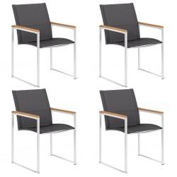 vidaXL Estantería de 9 cubos con cajas tela gris 103x30x107,5 cm