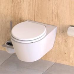 vidaXL Cajas de almacenamiento de bambú 4 unidades negro