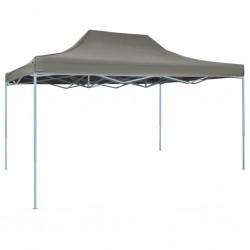vidaXL Estante de almacenamiento 4 cestas de tela acero negro