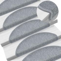 vidaXL Escalera de aluminio doble cara 3 peldaños 67 cm