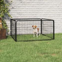 vidaXL Escalera de aluminio 5 peldaños 150 kg