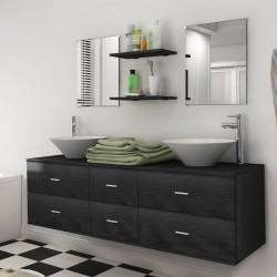vidaXL Cenador con cortinas 600x298x270 cm blanco 180g/m²