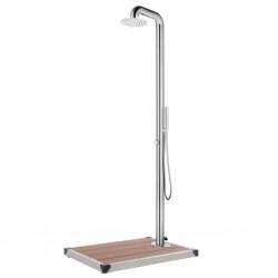 vidaXL Guirnalda de Navidad con luces LED PVC negro 2,7 m