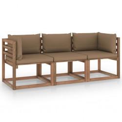 """vidaXL Tela de pantalla de proyección PVC metálico 50"""" 4:3"""