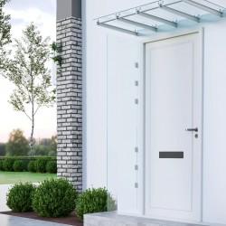 """vidaXL Tela de pantalla de proyección PVC metálico 60"""" 4:3"""