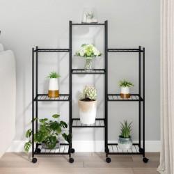 vidaXL Lámpara colgante industrial redonda 25 W plateada 42 cm E27