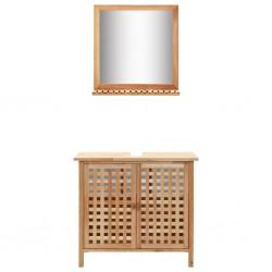 vidaXL Estantería de madera maciza de acacia 80x30x180 cm