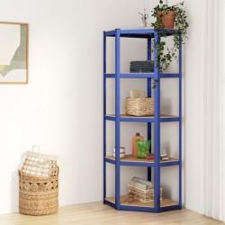 Fruit of the Loom Camisetas originales 5 uds rojo XXL algodón