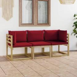 Fruit of the Loom Camisetas originales 5 uds naranja S algodón