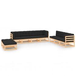 Fruit of the Loom Camisetas originales 5 uds naranja XXL algodón