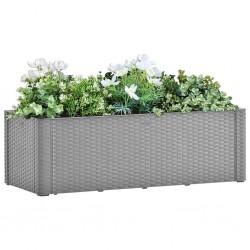 vidaXL Cobertizo jardín de leña acero galvanizado verde 245x98x159 cm