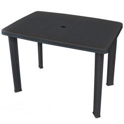 vidaXL Reloj de pared de MDF negro 80 cm