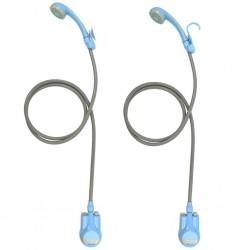 vidaXL Reloj de pared de MDF negro y dorado 63,5 cm