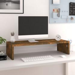 vidaXL Reloj de pared de MDF negro y dorado 60 cm