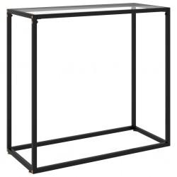 vidaXL Reloj de pared de MDF negro y dorado 45 cm